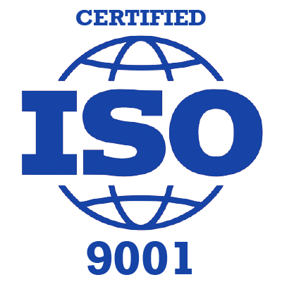 Tejoury is ISO 9001 Certified